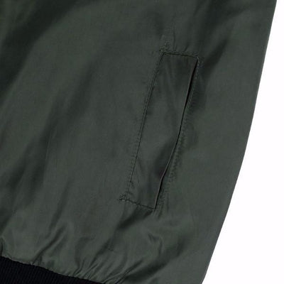 NinjApparel - The Classic Bomber - Pocket Detail