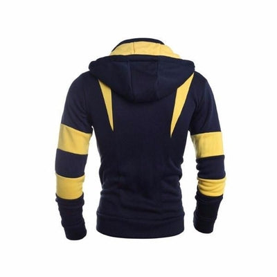 NinjApparel - Enforcer Hoodie - Yellow - Back