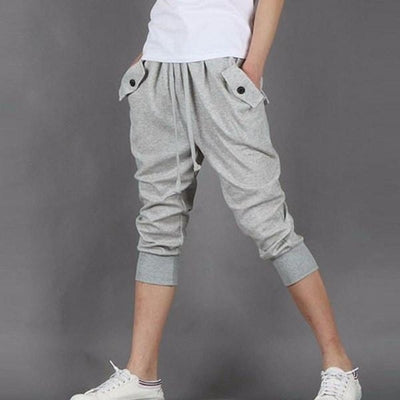 NinjApparel - Contemporary Joggers -  Grey - Front