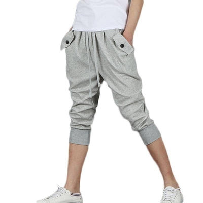 NinjApparel - Contemporary Harem Joggers - Grey