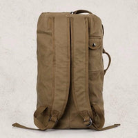 NinjApparel - Traveller Backpack - Khaki - Back