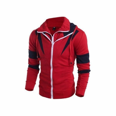 NinjApparel - Enforcer Hoodie - Red - Side