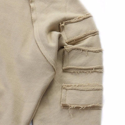 NinjApparel - The Necromancer - Khaki - Sleeve Detail