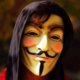 NinjApparel - Anonymous Mask - Yellow