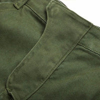 NinjApparel - Invader Joggers - Army Green - Front Crotch