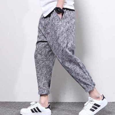 NinjApparel - Urban Street Joggers - Grey - Side