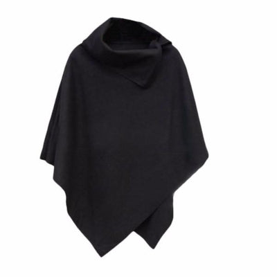 NinjApparel - Aki Poncho - Ladies - Black