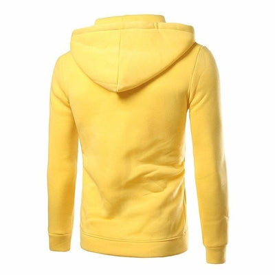 NinjApparel - Conspiracy Hoodie - Yellow - Back