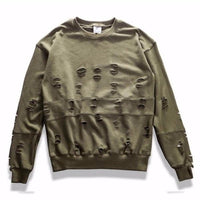 NinjApparel - Holy Grail Jumper - Army Green