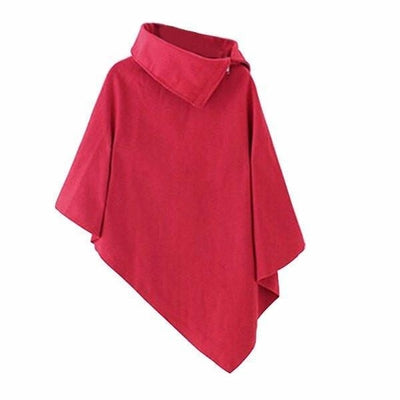 NinjApparel - Aki Poncho - Ladies - Red
