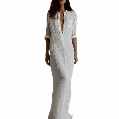 NinjApparel - Mercy Dress  - Front - White