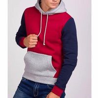 NinjApparel - Fugitive Hoodie - Red Navy - Side