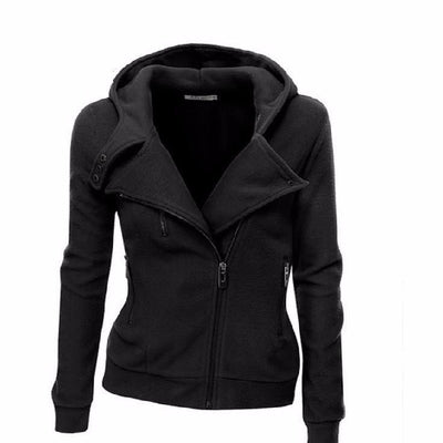 NinjApparel - The Duchess Free-runner - Women - Ladies - Jacket -Black Front