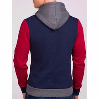 NinjApparel - Fugitive Hoodie - Navy Red - Back