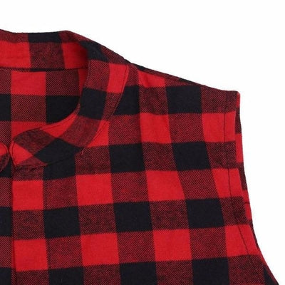 NinjApparel - The Statement Plaid - Sleeve Detail