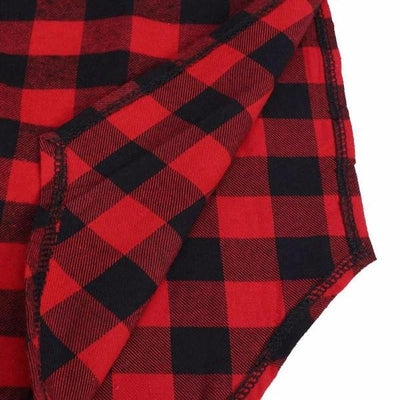 NinjApparel - The Statement Plaid - Stitching Detail