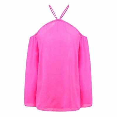 NinjApparel - Criss Cross Shirt - Pink - Front