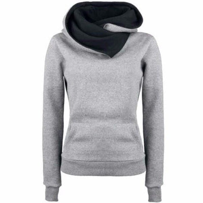 NinjApparel - Slay Assassin Hoodie  - Grey - Cover