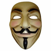 NinjApparel - Anonymous Mask - Yellow - Front