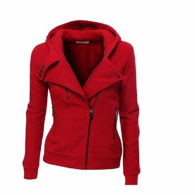 NinjApparel - The Duchess Free-runner - Women - Ladies - Jacket - Red - Front
