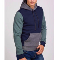 NinjApparel - Fugitive Hoodie - Navy Green - Side