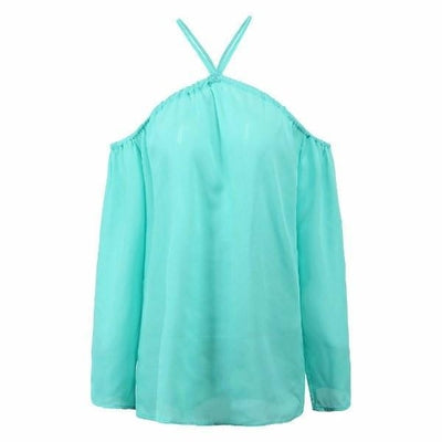 NinjApparel - Criss Cross Shirt - Light Blue