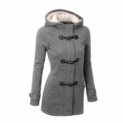 NinjApparel - Empress Jacket - Grey - Cover