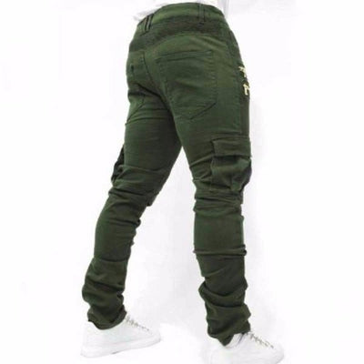 NinjApparel - Invader Jogger - Army Green - Side