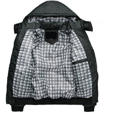 NinjApparel - Interchangable Jacket - Black Open
