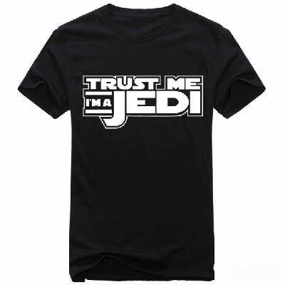 NinjApparel - Jedi T-Shirt - Cover Photo Black