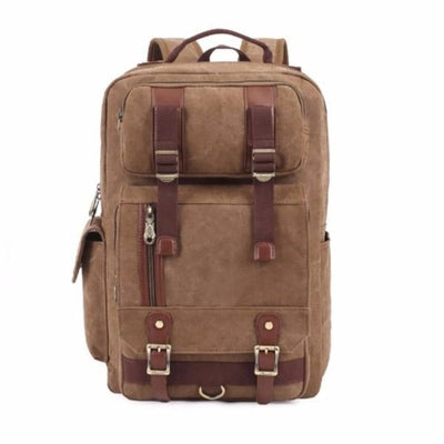 NinjApparel - Vintage Backpack -  Khaki