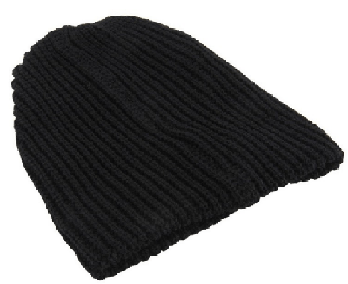 NinjApparel - Knitted Headsock - Black