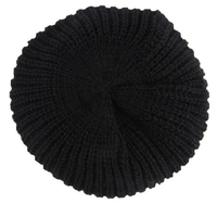 NinjApparel - Knitted Headsock - Black Top View