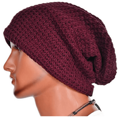 NinjApparel - Knitted Headsock - Red Side View