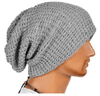NinjApparel - Knitted Headsock - Grey Side View