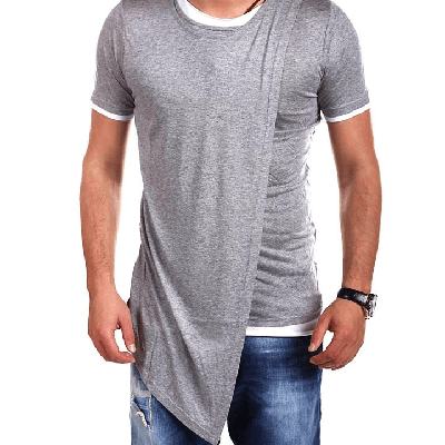 NinjApparel - NinjA Slash Tee - Grey