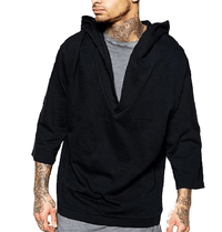 NinjApparel - Outlaw Hoodie - Black Front View