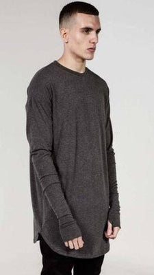 NinjApparel - Outlaw's Pullover - Grey