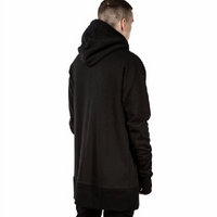 NinjApparel - Parkour Zip Hood - Back View