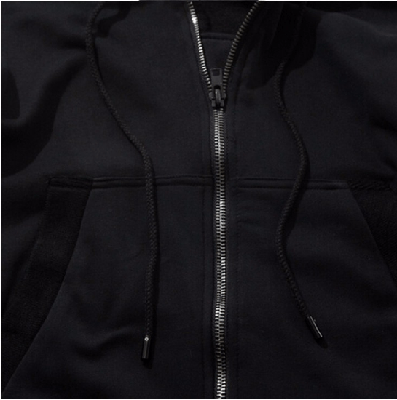 NinjApparel - Parkour Zip Hood - Close Up Zip