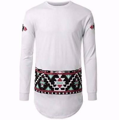NinjApparel - Retro Summer Sweater - White