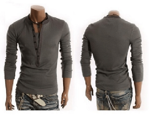 NinjApparel - The Maverick  - Charcoal - Back and Front