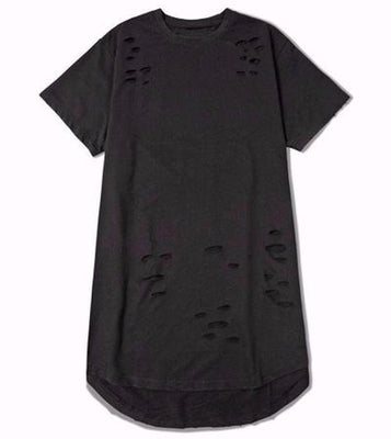 NinjApparel - Ripped Harem Tee - Black