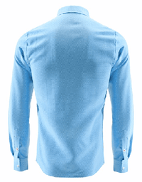 NinjApparel - Double Agent - Sky Blue Back View