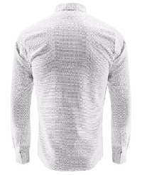 NinjApparel - Double Agent - White Back View
