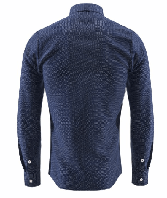 NinjApparel - Double Agent - Navy Blue Back View