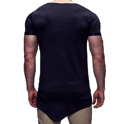 NinjApparel - Shinobi Slash Tee - Black Back View