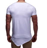NinjApparel - Shinobi Slash Tee - White Back View