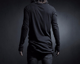 NinjApparel - Side Slash Threads - Black Back View
