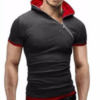 NinjApparel - Summer Assassin Zip - Grey/Red